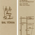 BAL TERRA SHOP CARD